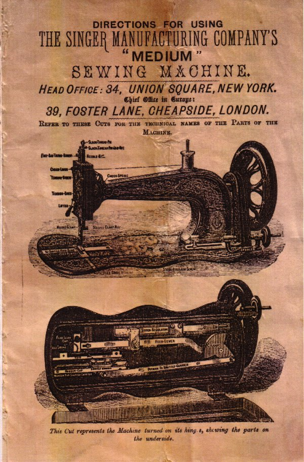 Index Of EbayFilesEbayStorePicsManualsSewing Stunning The Singer Manufacturing Co Sewing Machine Ebay