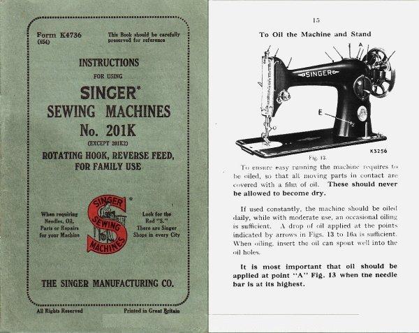 User Manual From Singer Machine Car Owners Manual