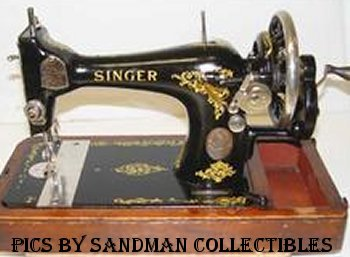 id singer machines rh sandman collectibles com vintage sewing machine manual penncrest 2601 vintage sewing machine manuals