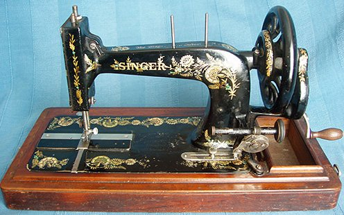 ID Singer Machines Delectable Antique Singer Sewing Machine Manual